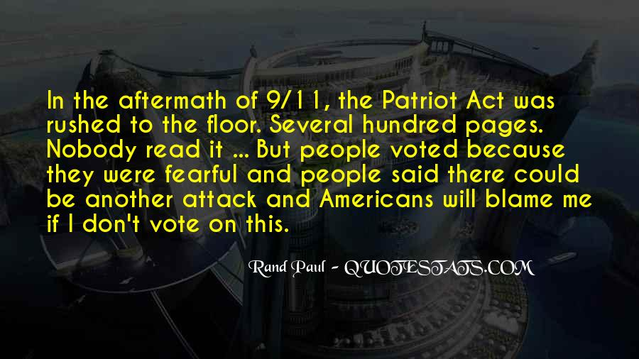 Quotes About 9/11 Attack #1716212