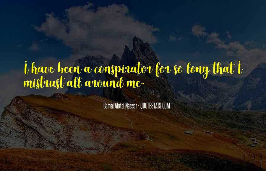 Conspirator Quotes #1590795