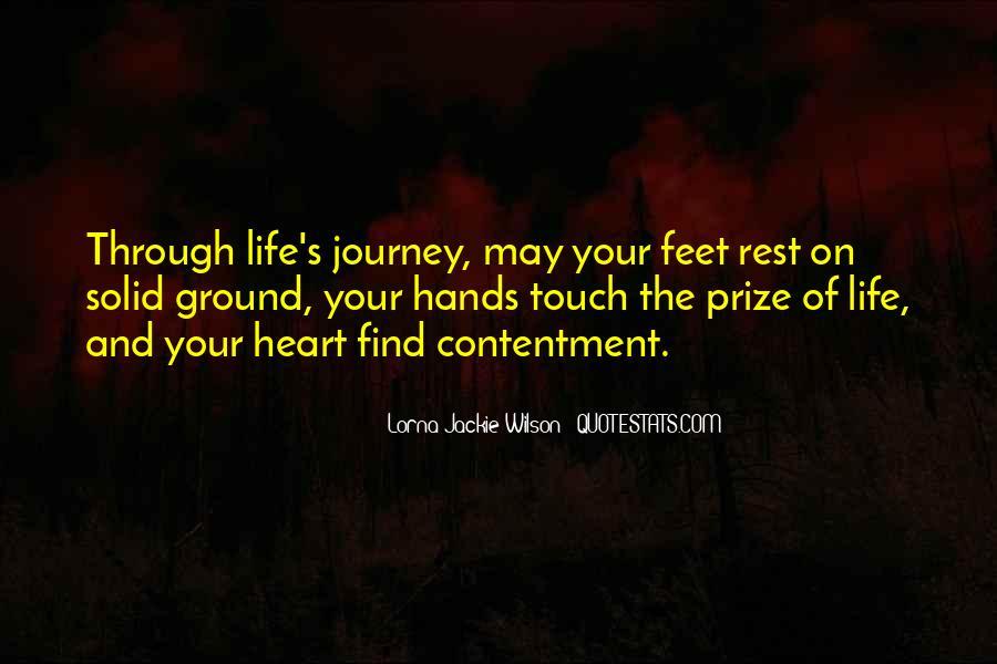 Contentment's Quotes #1050485
