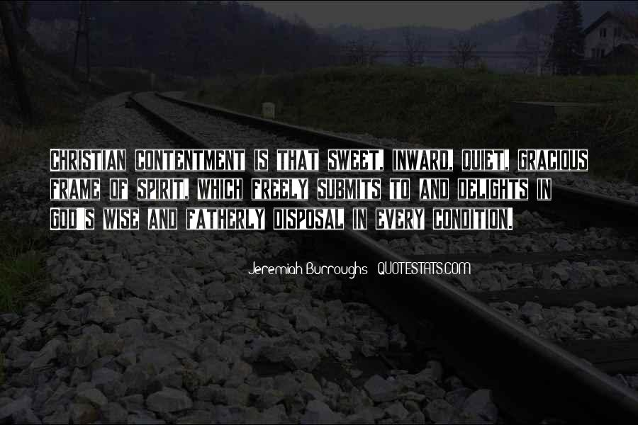 Contentment's Quotes #1058262