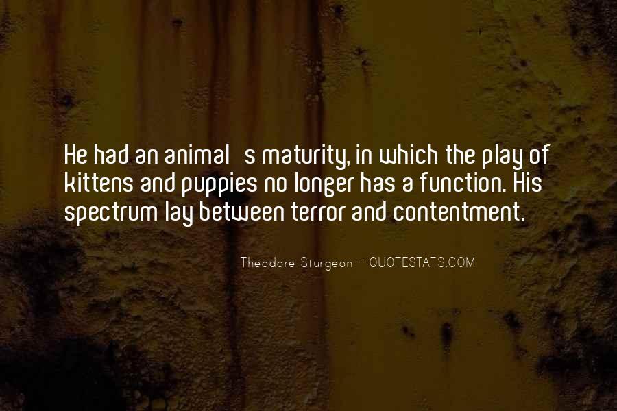 Contentment's Quotes #1090594