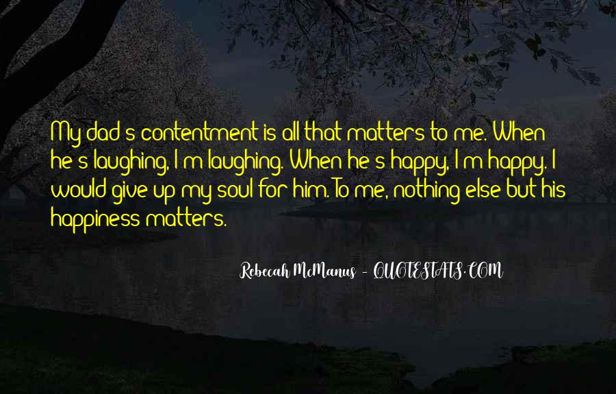 Contentment's Quotes #1112617