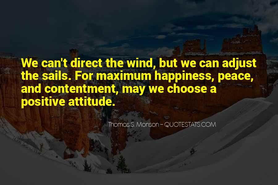 Contentment's Quotes #1114167