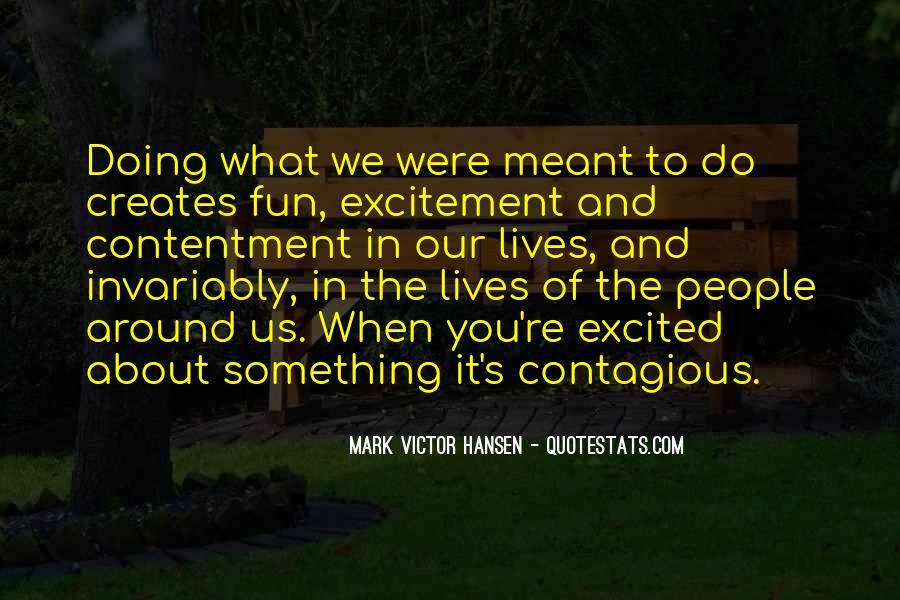 Contentment's Quotes #1156805