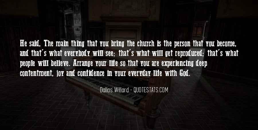 Contentment's Quotes #1329508