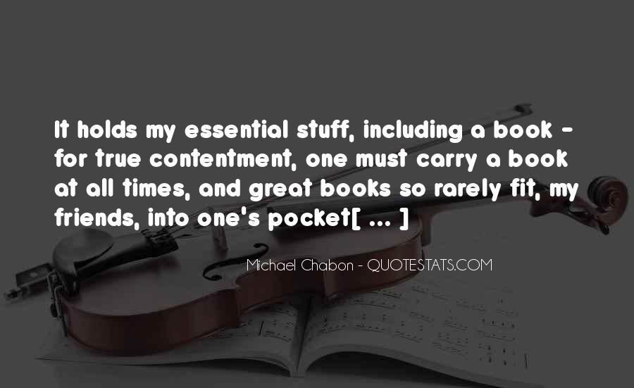 Contentment's Quotes #13766