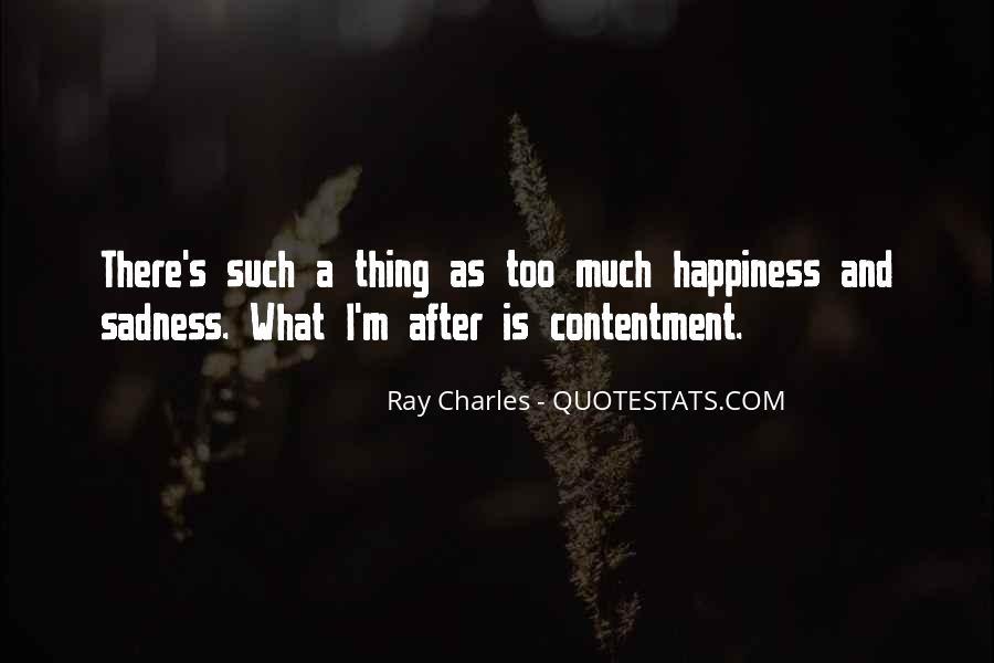 Contentment's Quotes #147322