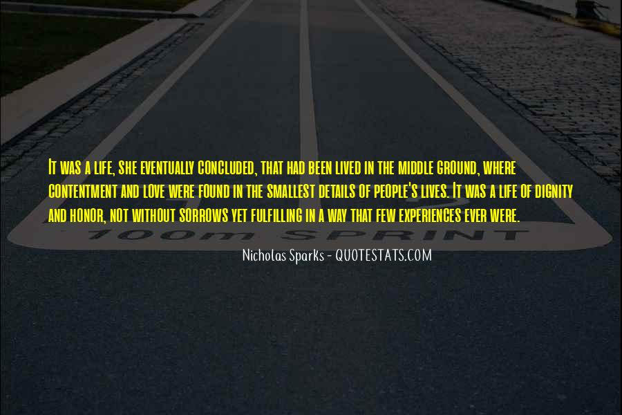 Contentment's Quotes #173871