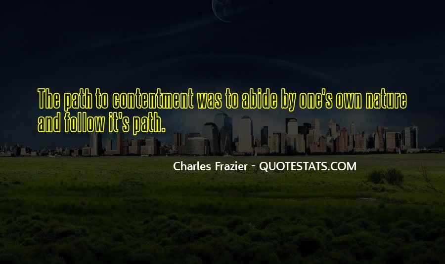 Contentment's Quotes #189315