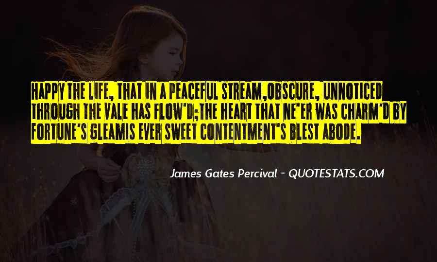 Contentment's Quotes #291585