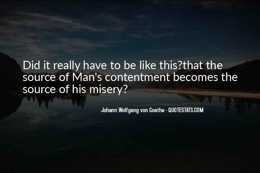 Contentment's Quotes #294340