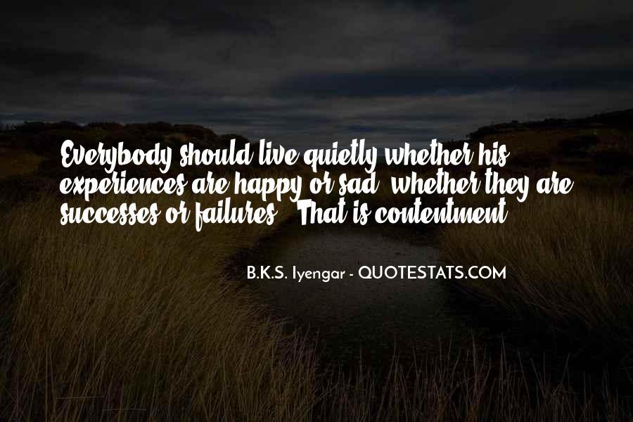 Contentment's Quotes #33280