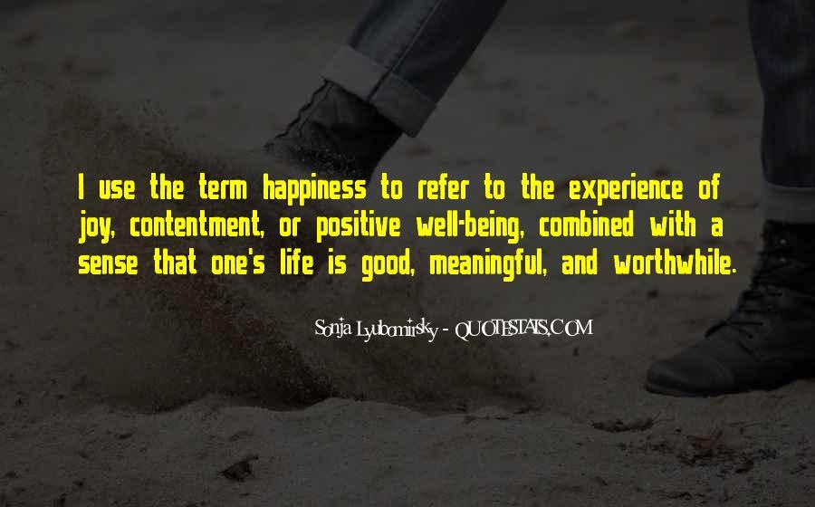 Contentment's Quotes #645277