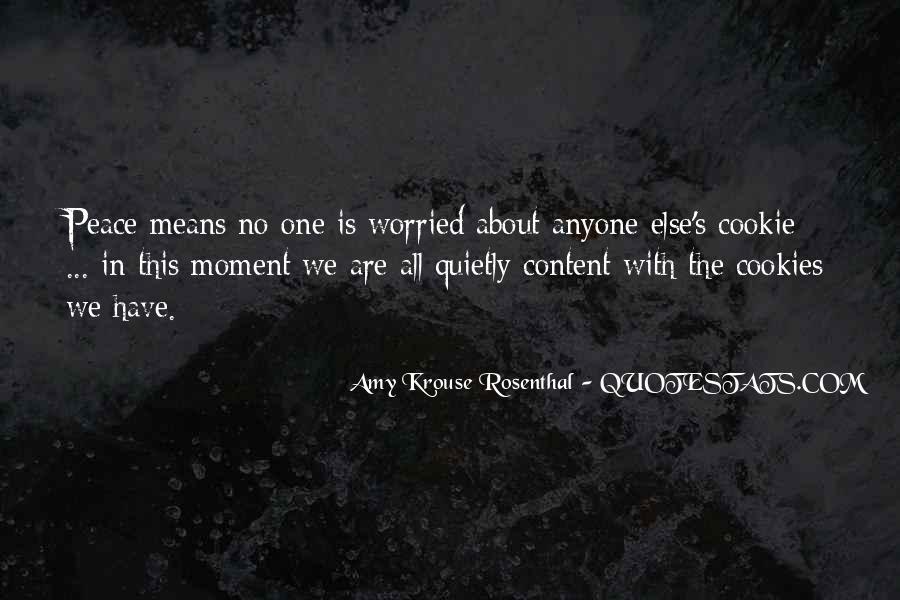 Contentment's Quotes #670892