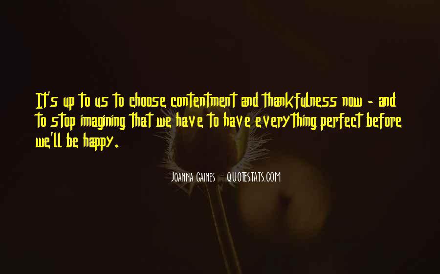 Contentment's Quotes #709093
