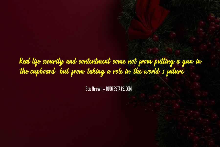 Contentment's Quotes #711287