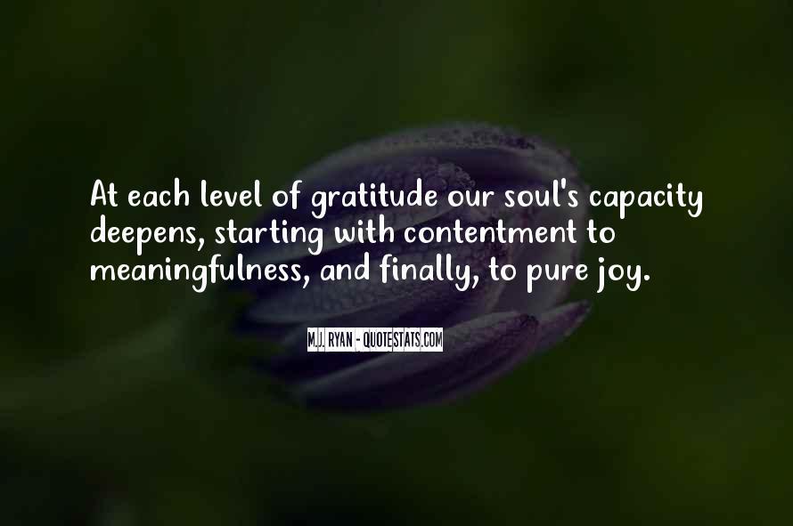 Contentment's Quotes #887596