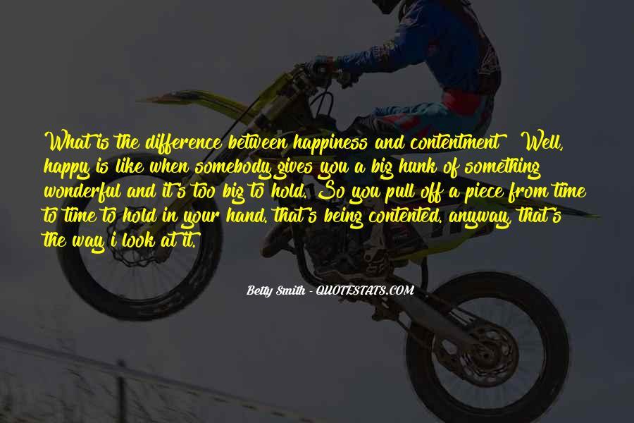 Contentment's Quotes #915561