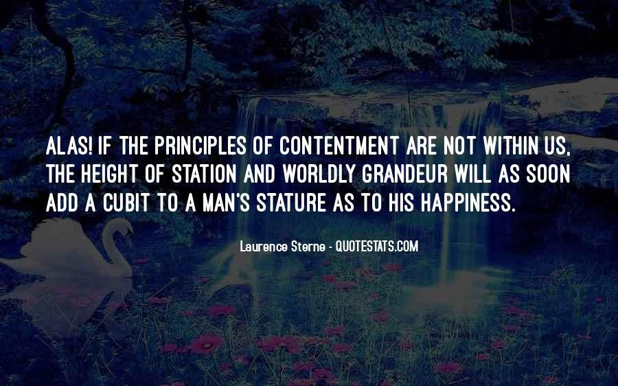 Contentment's Quotes #925954