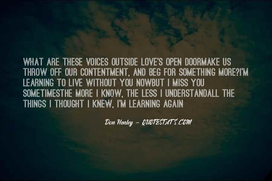 Contentment's Quotes #962162