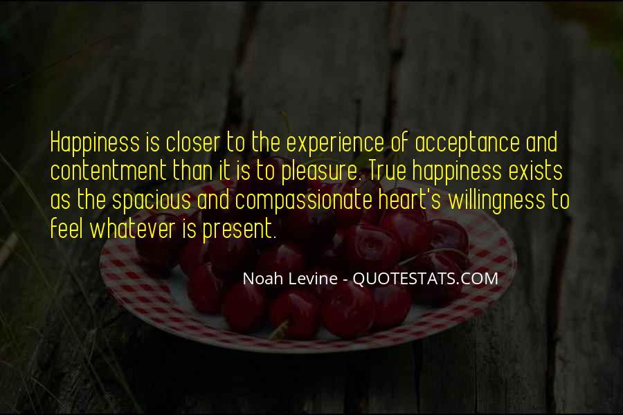 Contentment's Quotes #964451