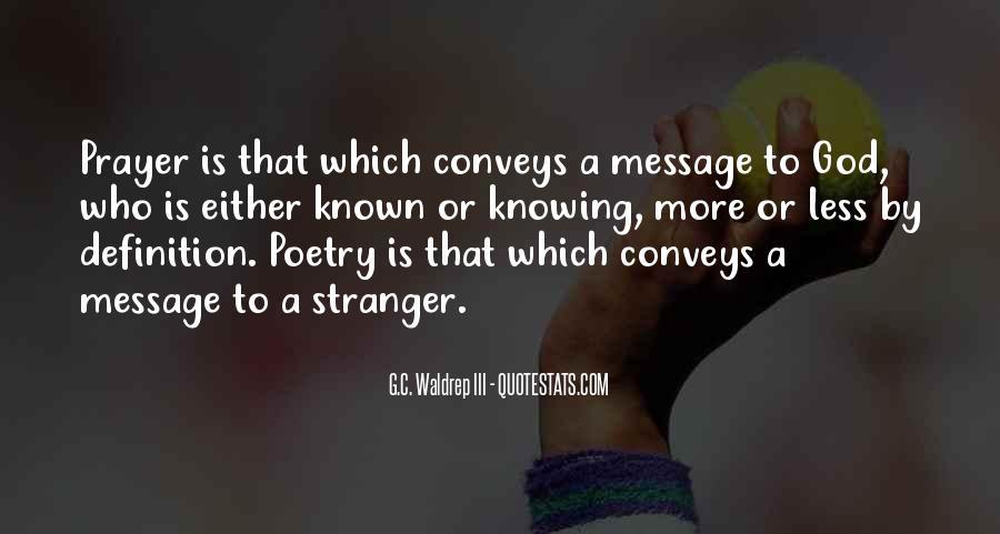 Conveys Quotes #1770396