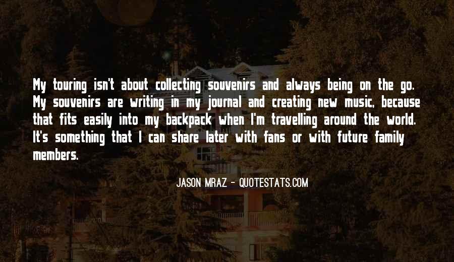 Quotes About Souvenirs #1427500