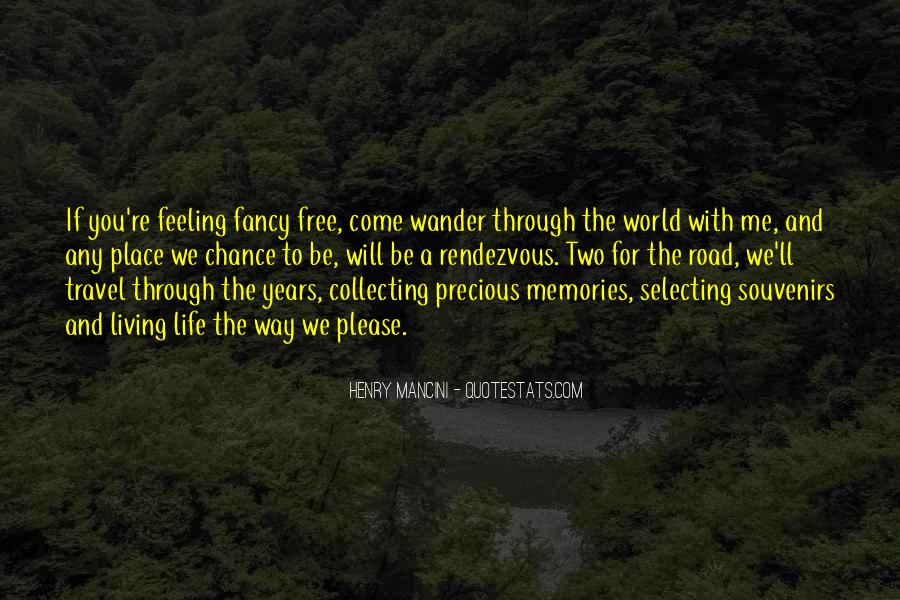 Quotes About Souvenirs #1712779