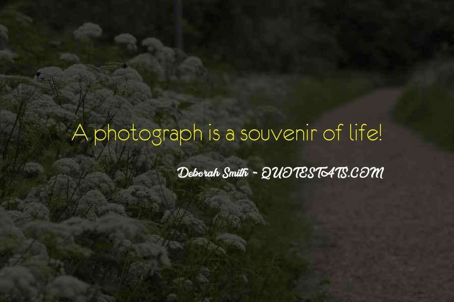 Quotes About Souvenirs #1810387