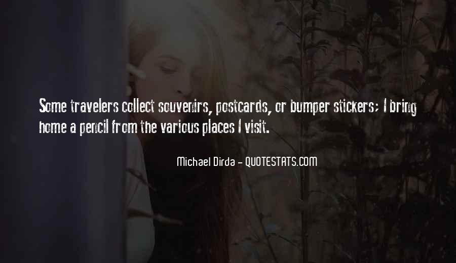 Quotes About Souvenirs #55600