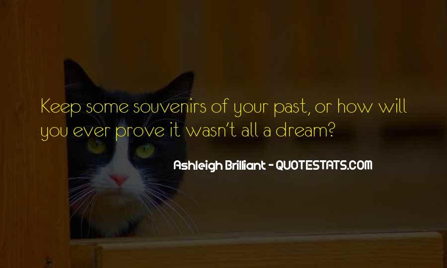 Quotes About Souvenirs #980579