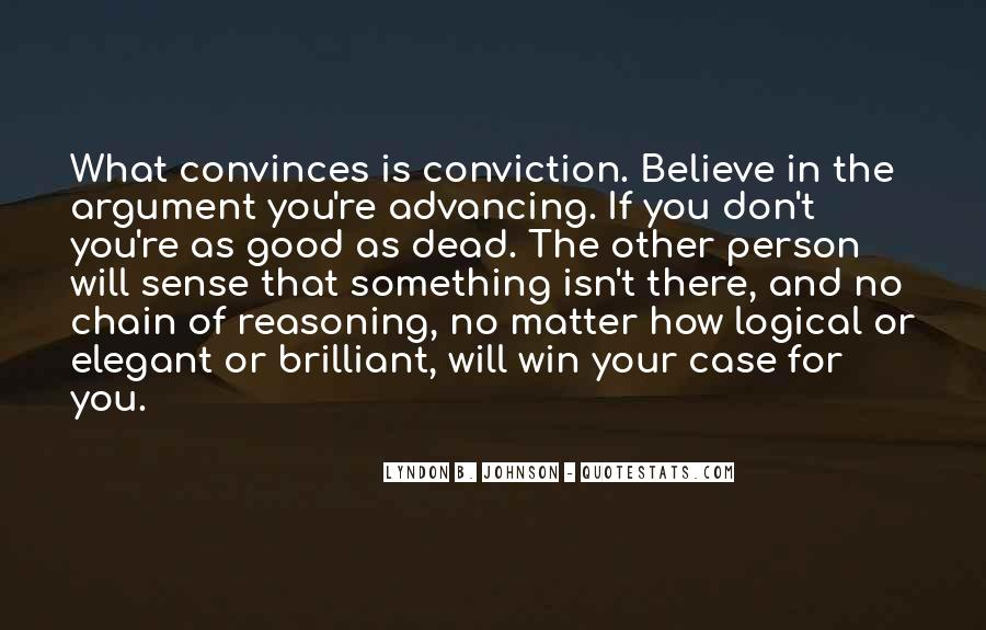Convinces Quotes #1620057