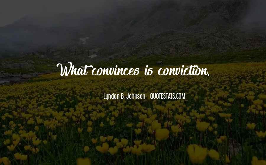 Convinces Quotes #265535
