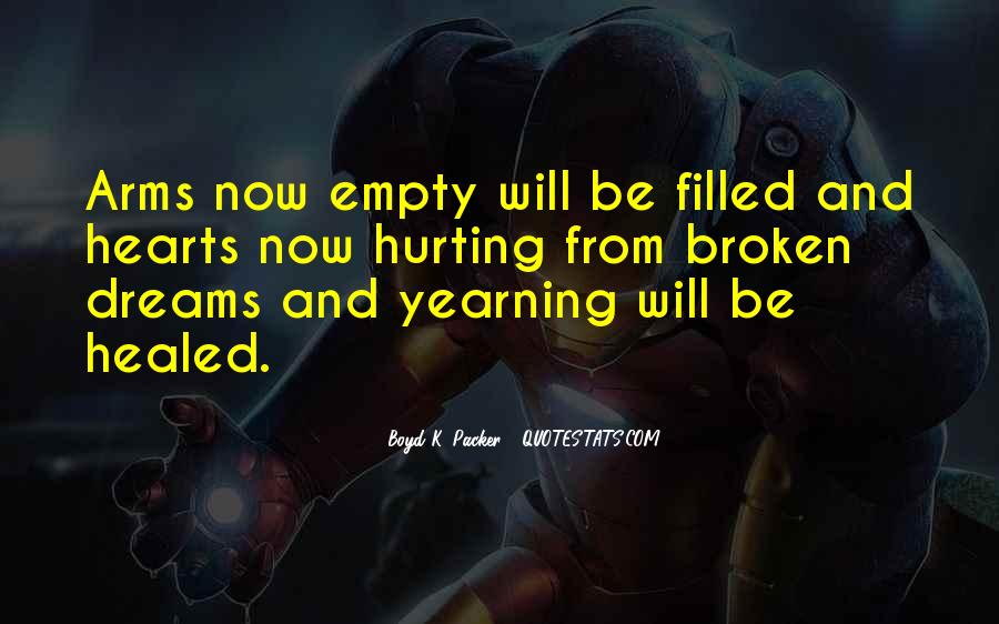 Quotes About Broken Hearts And Dreams #273688