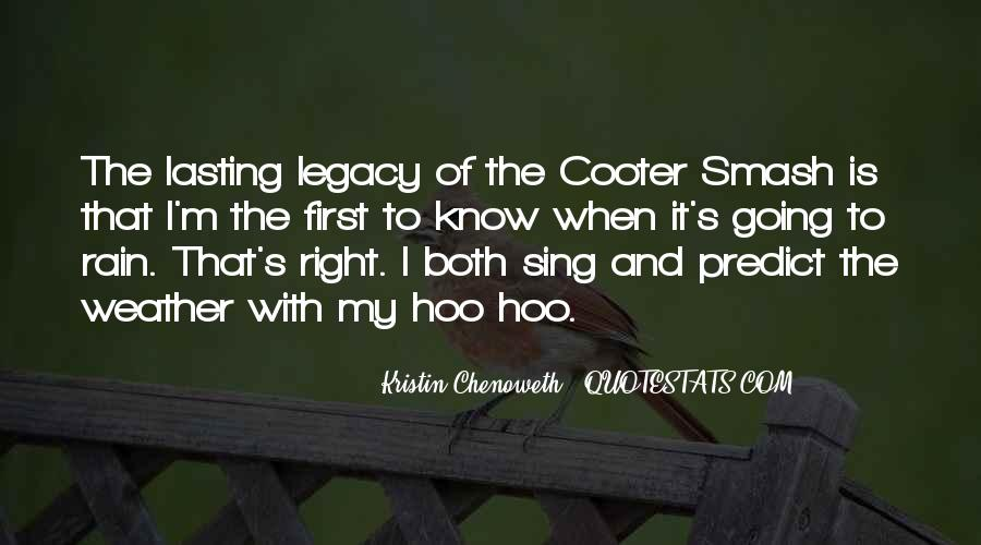 Cooter Quotes #860304