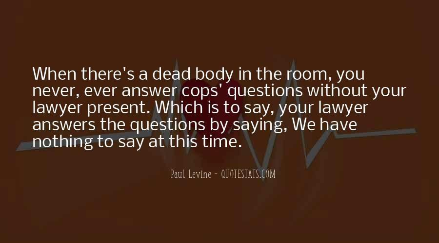 Cops'd Quotes #117288