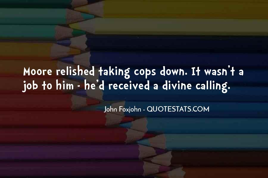 Cops'd Quotes #1258520