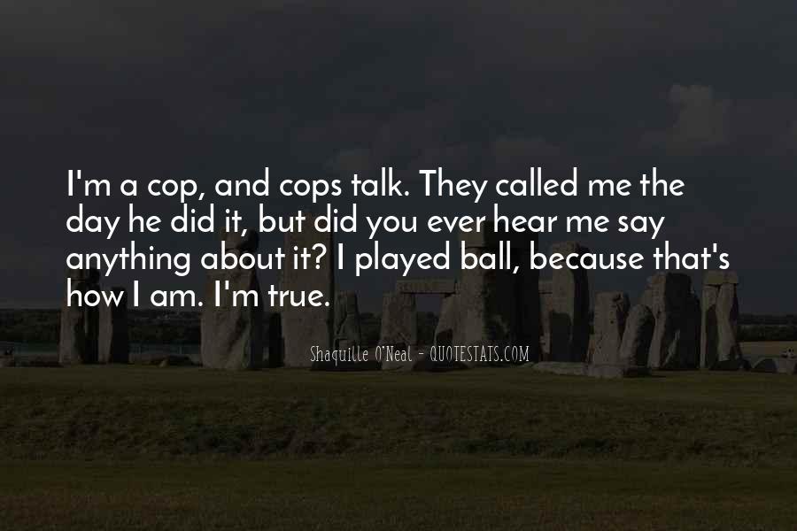 Cops'd Quotes #308994