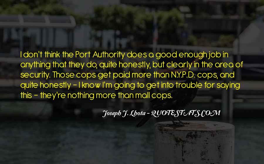 Cops'd Quotes #585367