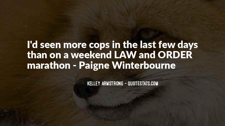 Cops'd Quotes #842960