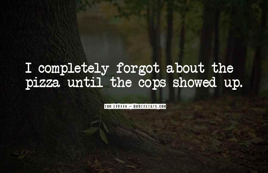 Cops'd Quotes #92480
