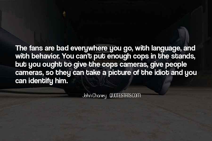 Cops'd Quotes #97546