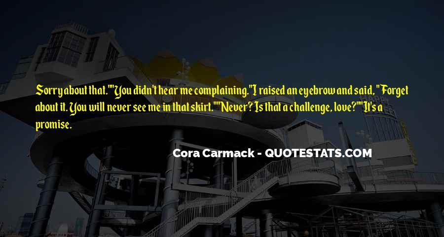 Cora's Quotes #1175774