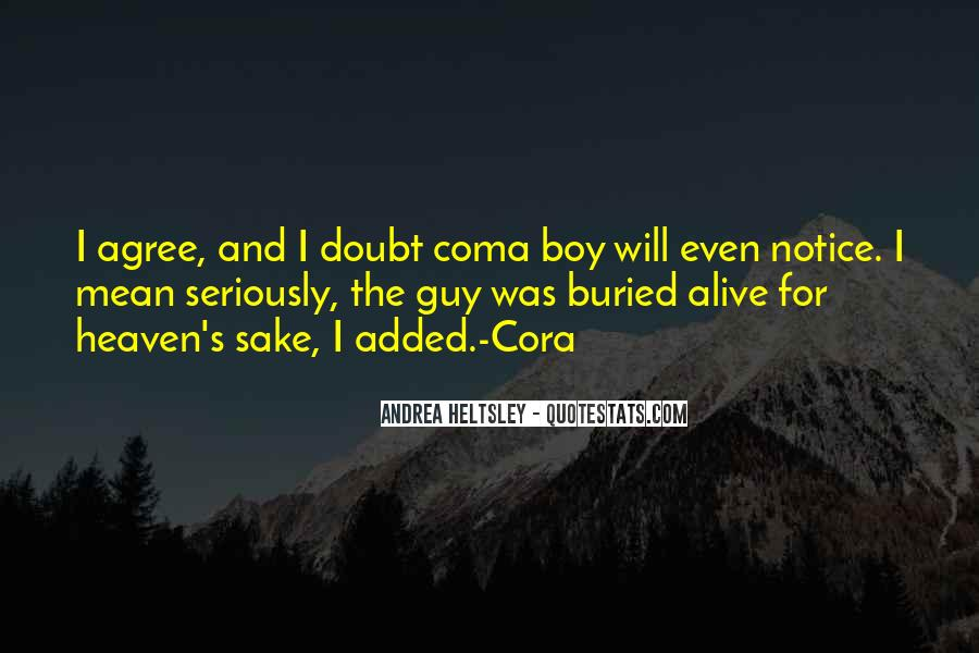 Cora's Quotes #1177432