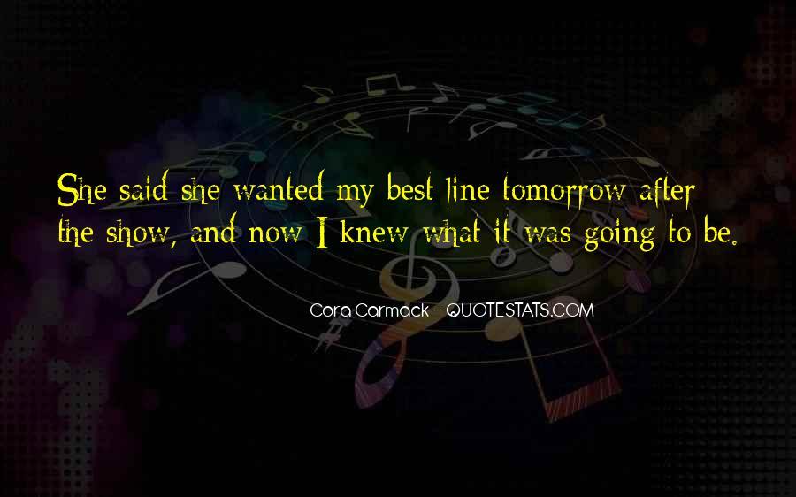 Cora's Quotes #146674
