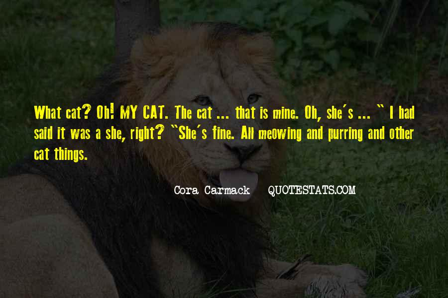 Cora's Quotes #285366