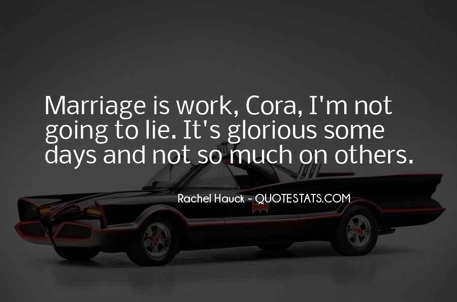 Cora's Quotes #448751