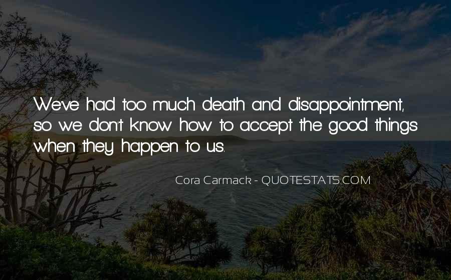 Cora's Quotes #74199