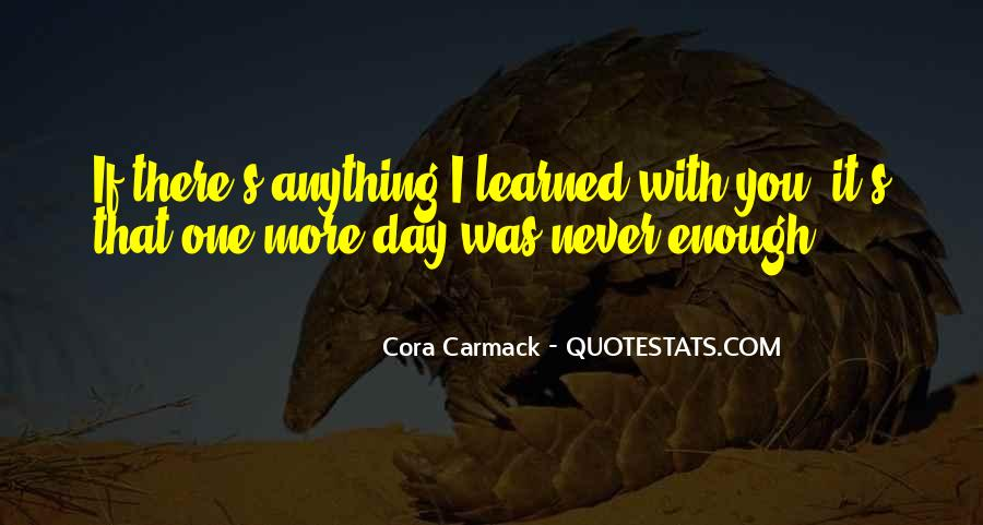 Cora's Quotes #774540