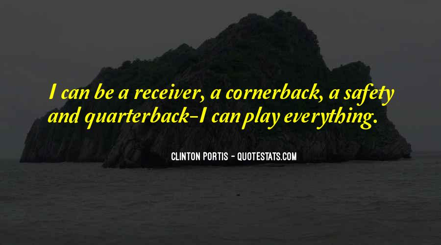 Cornerback Quotes #1210673